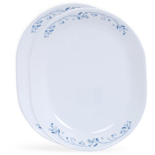 Corelle Livingware Provincial Blue 2 pcs Oval Serving Platter