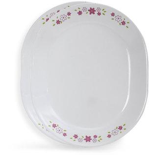 Corelle Livingware Floral Fantasy 2 Pcs Oval Serving Platter