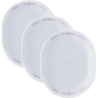Corelle India Impressions Melody 3 Pcs Oval Serving Platter