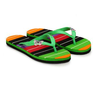Groofer Women's Green Slippers