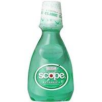 Scope Classic Mouthwash Original Mint Flavor 250 Ml (Pack Of 4)