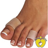 HappyFeet Toe Sleeves, Toe Protector Or Finger Protecto