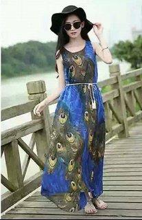 Beautiful chiffon Gowns