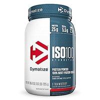 Dymatize ISO 100 Whey Protein Powder Isolate, Strawberr