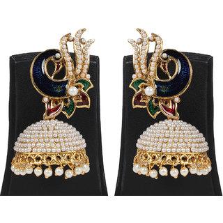 Penny Jewels Party Wear Fashionable Jhumki Earring Set For Women  Girls
