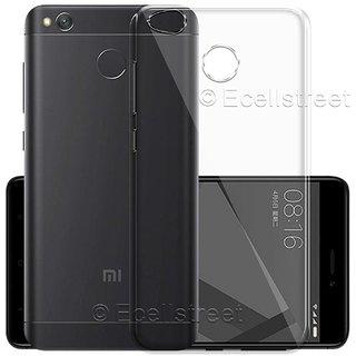Redmi 4 Transparent Soft Back Cover