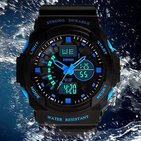 Very new fashion Skmei Military LED Dual Time Multifunction Sport WATCH for MEN