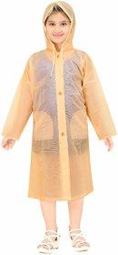 Goodluck Girls Full Sleeve Raincoat (KidsRaiCoat04)