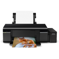 EPSON L-805 A4 Size Colour Photo Printer With WI-FI 6 Color CISS Tank