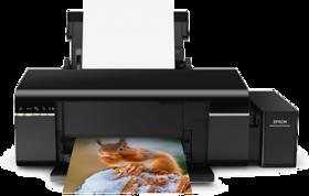 EPSON L-805 A4 Size Colour Photo Printer With WI-FI 6 Color CISS Tank