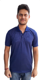 Port Men's Blue Fashion T-Shirt
