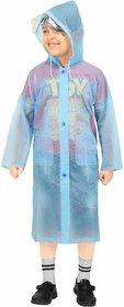 Goodluck Unisex Full Sleeve Raincoat (KidsRaiCoat03)