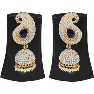 Jewels Gehna Alloy Party Wear Fashion Designer Stylish Jhumki Earring Set For Women  Girls