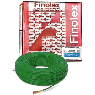 Finolex 1.5Sqmm FR PVC Insulated Cable (Green)