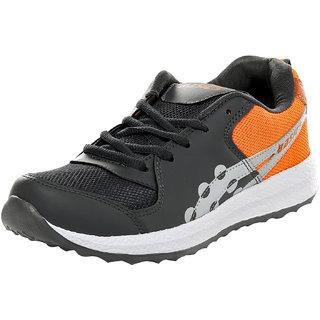 Birdy Basics Men'S Grey Orange Sports Shoes