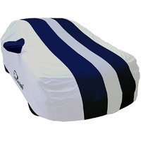 Autofurnish Stylish Blue Stripe Car Body Cover For Niss