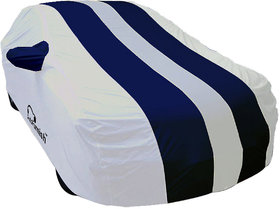 Autofurnish Stylish Blue Stripe Car Body Cover For Hyun