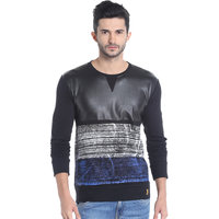 Campus Sutra Men Round Neck Tshirt