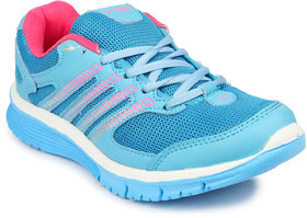 Columbus Women's Blue & Pink Sports Shoes