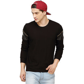 Campus Sutra Men Round Neck Tshirts