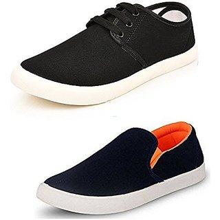 buy sketch men's multicolor laceup sneakers pack of 2