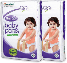 Himalaya TOTAL CARE BABY PANTS DIAPERS-XL-28'S (Pack of 2)