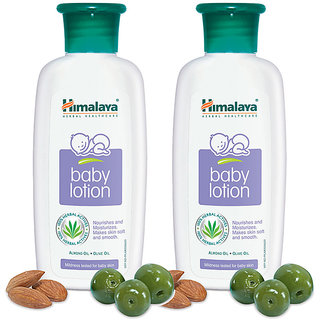 Himalaya Baby Lotion 200 ml (Pack of 2)