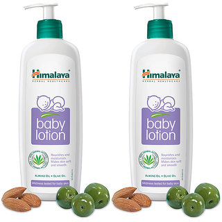 Himalaya Baby Lotion 400 ml (Pack of 2)