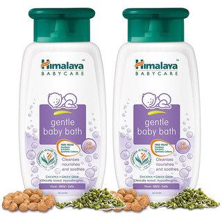 Himalaya Gentle Baby Bath 200 ml (Pack of 2)