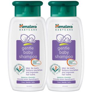 Himalaya Gentle Baby shampoo 400 ml (Pack of 2)