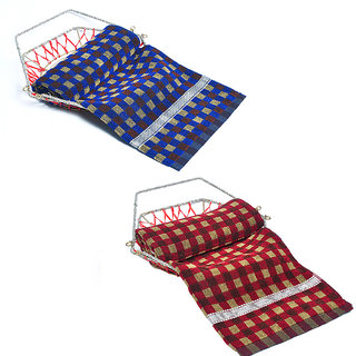 AS High Quality Multicolor Bath Towels - (set of 2 )