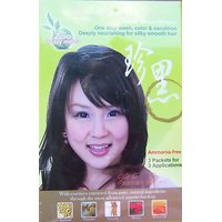 Natural Miya 100% Natural Coloring Shampoo, Black