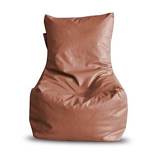 Home Story Chair Bean Bag XL Size Tan Color With Beans