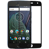 Moto G5 plus 5.0 Inch Curved Edge-to-Edge Cover Full Body Tempered Glass Screen Protector Black