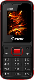 Ziox ZX225 (Dual Sim, 1.8 Inch Display, Wireless FM, 25