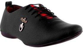 Footista Original Black Party Wear Shoes