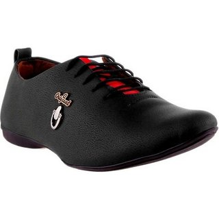 Footista Original Black Party Wear Shoes