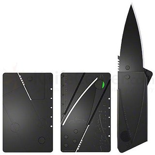 Adbeni Cardsharp Credit Card Folding Safety Knife