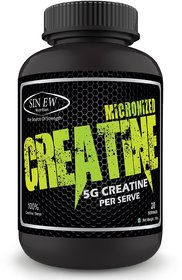 Sinew Nutrition Micronized Creatine Monohydrate 100gm / 0.22 lb - Unflavoured