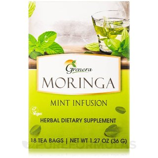 Grenera Moringa Mint Infusion-20 Tea Bags/ Box