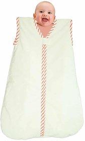 Babies Bloom White Pure Cotton Sleeping Bag