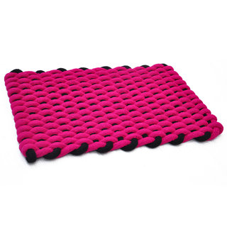 AS Rope Weaved Door Mats - Red