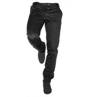 CULTURE (P.J.C.)  BLACK  Regular Formal  Trousers For Men