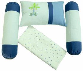 Babies Bloom Banyan Tree 4 Pieces Crib Bedding Gift Set