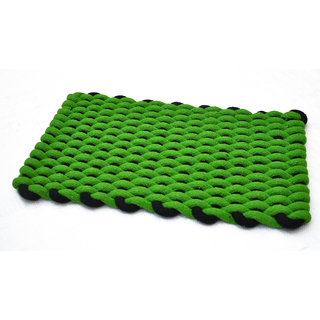 AS Rope Weaved Door Mats - Green