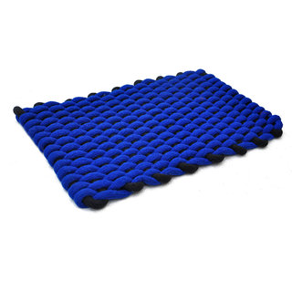 AS Rope Weaved Door Mats - Blue