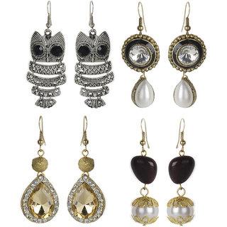 The Pari Combo Of 4 Dangle Earrings