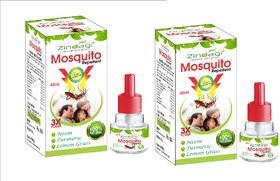 Zindagi Mosquito Repellent-Natural  Pure Lemongrass Extract, Neem Extract  Chemical Free (Pack Of 2)