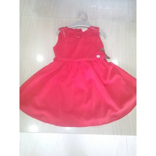 Girl Frock Red clour