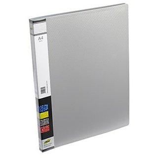 Trio 601A Display File 20 Pockets A4 (Set Of 2, Grey)